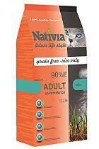 Nativia Cat Adult Salmon&Rice Active 10kg