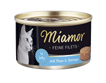 Miamor Cat Filet konzerva tuňák+krevety 100g