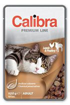 Calibra Cat  kapsa Premium Adult Lamb & Poultry 100g