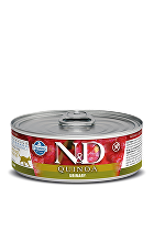 N&D GF CAT QUINOA Urinary Duck & Cranberry 80g