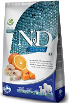 N&D OCEAN DOG GF Adult M/L Codfish&Pumpkin&Orange 12kg