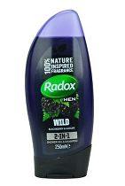 Radox sprchový gel Men 2v1 Feel Wild/Ginger 250ml
