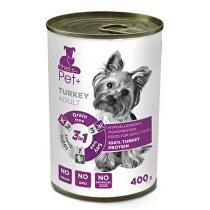 Dibaq Dog Pet+ konz. Adult Turkey 400g