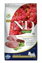N&D Quinoa DOG Weight Mnmgnt Lamb &Broccoli Mini 2,5kg