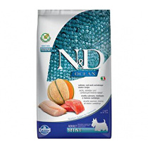 N&D OCEAN DOG Adult Mini Salmon & Cod & Melon 2,5kg