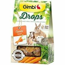 Gimbi Drops pre hlodavce s mrkvou 50g