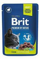 Brit Premium Cat vrecko Lamb for Sterilised 100g