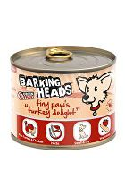 BARKING HEADS Tiny Paws Turkey Delight konz. 200g