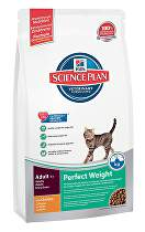 Hill's Feline  Dry Adult Perfect Weight 1,5kg