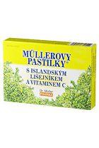 Dr.Muller Pharma Pastilky s Islandským lišejníkem 24ks