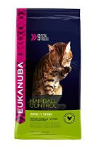 Eukanuba Cat Adult Hairball Control Chicken 400g