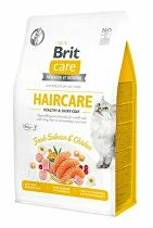 Brit Care Cat GF Haircare Healthy&Shiny Coat 0,4kg
