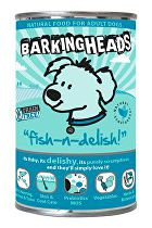 BARKING HEADS Fish n Delish konz. 400g new