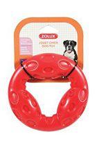 Hračka pes kruh TRP RING 14cm červená Zolux