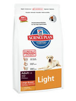 Hill's Canine  Dry Adult Light Large 12kg