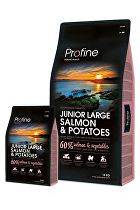 Profine NEW Dog Junior Large Salmon & Potatoes 15 kg