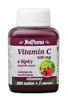 Vitamin C s šípky 1000mg MedPharma 100tbl +7zdarma