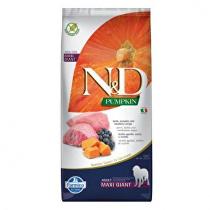 N&D Pumpkin DOG Adult Giant Lamb & Blueberry 12kg