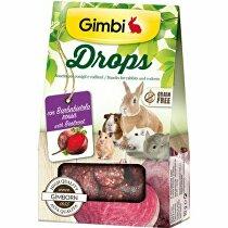 Gimbi Drops pre hlodavce s červenou repou 50g