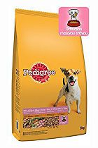 Pedigree Dry Adult Small hydina a zelenina 12kg