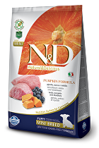 N&D GF DOG PUMPKIN Puppy Mini Lamb & Blueberry 2,5kg