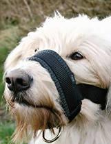 Náhubok fixačné nylon podložený pes L 18-30cm TR