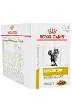 Royal Canin VD Feline Urinary Mod Calor 12x85g kapsa