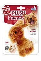 Hračka pes GiGwi Plush Friendz Králiček hnedý plyš