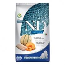 N&D OCEAN DOG Puppy M/L Codfish & Pumpkin& Melon 2,5kg