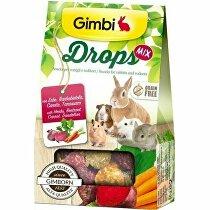Gimbi Drops Grain Free pre hlodavce mix 50g