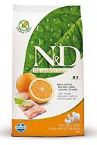 N&D Grain Free DOG Adult Mini Fish & Orange 2,5kg