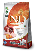 N&D GF Pumpkin DOG Adult M/L Chicken&Pomegranate 2,5kg