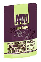 AATU Cat Duck n Chicken Liver kaps. 85g