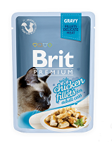 Brit Premium Cat D Fillets in Gravy With Chicken 85g