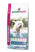 Eukanuba Dog Nature Plus+ Adult Small froz Salm 10kg