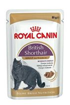 Royal Canin Breed Feline British Short kapsa,želé 85g