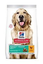 Hill's Can.Dry SP Perf.Weight Adult Large Chicken 12kg