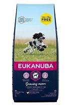 Eukanuba Dog Puppy Medium 18kg BONUS