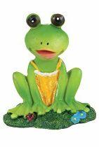Akvarijné dekorácie sediaci žaba Zolux