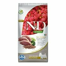 N&D Quinoa DOG Neutered Mini Duck&Broccoli&Asp. 7kg