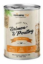 Chicopee Cat konz. Jelly Pot Salmon&Poultry 400g