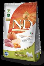 N&D GF Pumpkin DOG Adult Mini Boar & Apple 800g