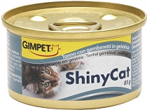 Gimpet kočka konz. ShinyCat tuňak/krevety 2x70g