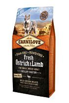 Carnilove Dog Fresh Ostrich&Lamb for Small Breed 6kg