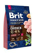 Brit Premium Dog by Nature Junior L 3kg