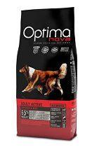 Optima Nova Dog Adult active 12kg