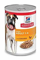Hill's Can. konz. SP Light Adult Chicken 370g