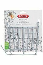 Kŕmidlo jasličky pre hlodavce kov šedej Zolux
