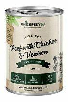 Chicopee Cat konz. Kitten Paté Pot Beef+Chicken 400g