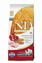 N&D Low Grain DOG Senior Med&Maxi Chicken&Pomegr 12kg